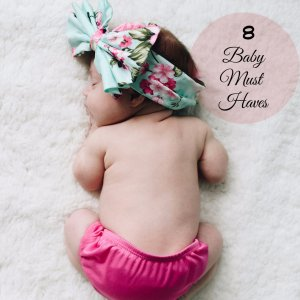 must have baby items for first time moms