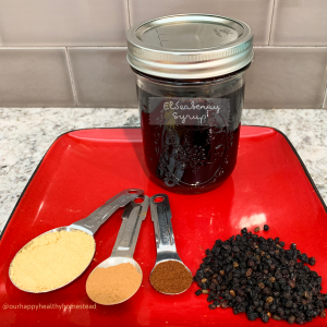 Elderberry Recipe Ingredients